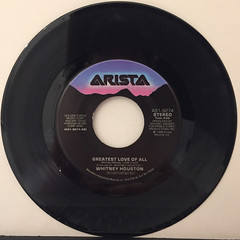 WHITNEY HOUSTON:YOU GIVE GOOD LOVE(RECORD SIDE-B)