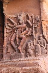 Cave 1. 18 armed Nataraja