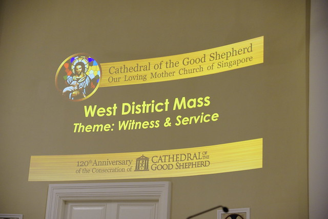 Cathedral Dedication Celebrations - West District (WITNESS & SERVICE) 21 Feb 2017