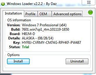 daz windows loader download