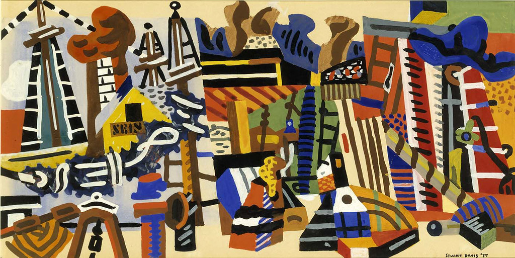 Stuart Davis Abstraction 1937 Abstraction 1937
