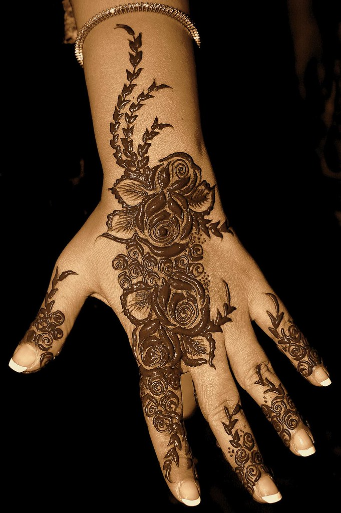 Henna Patterns A Shot From My Archives Please View L Flickr