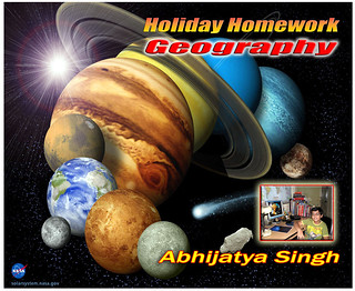 Holiday Homework Geography.(Planets) | by dharmensingh