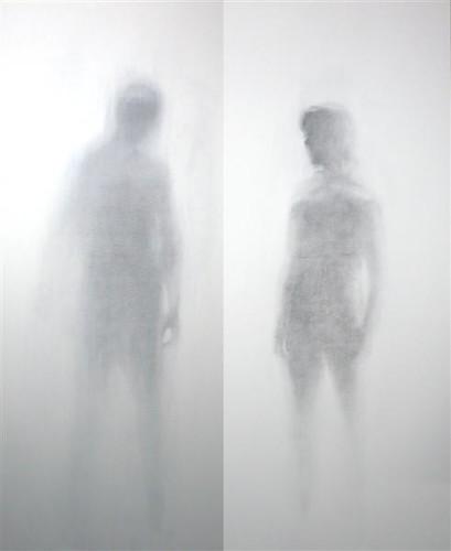 Resultado de imagen de Imágenes de fantasmas sobre un lienzo