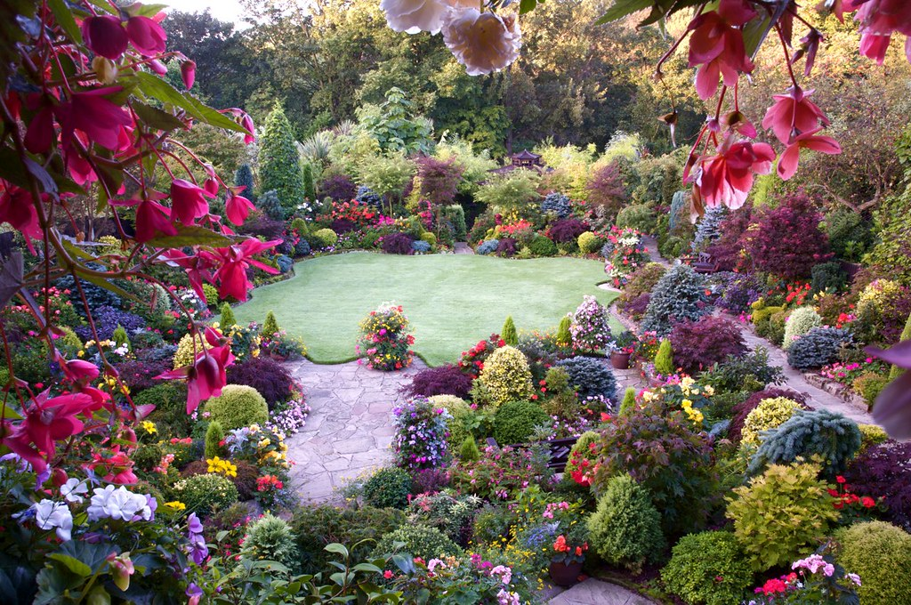 A hint of autumn in the late summer garden english for Gardening 4 all seasons