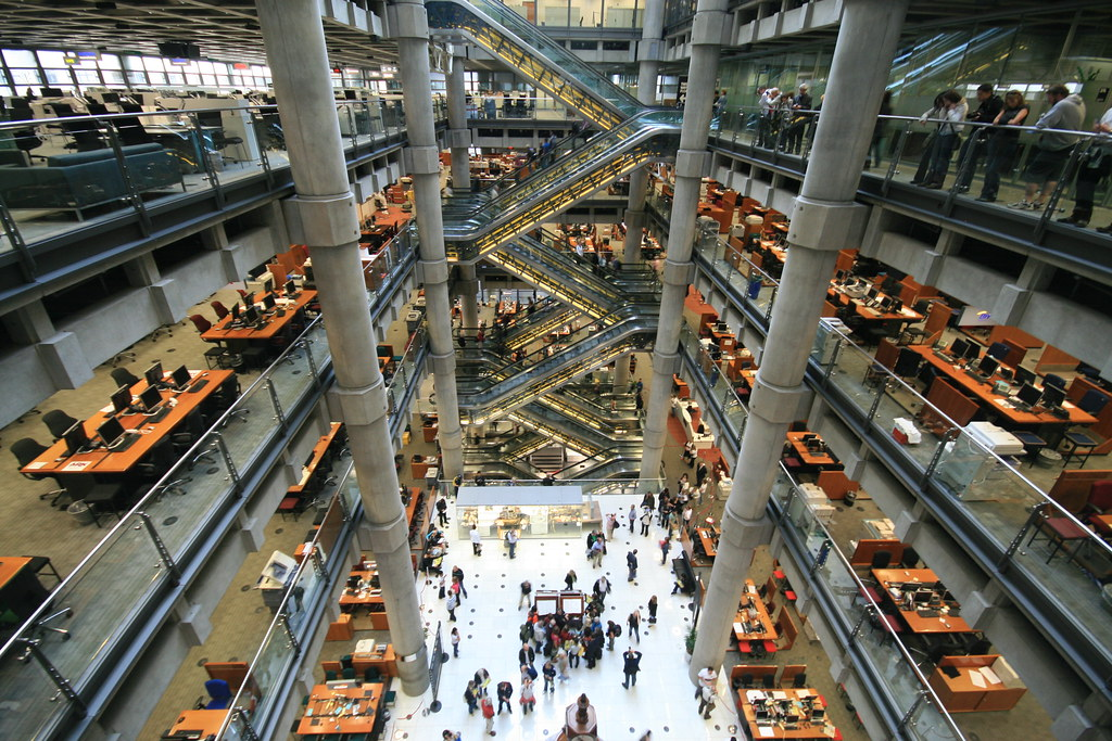 Lloyds Of London Taken Today Thanks To Open House London