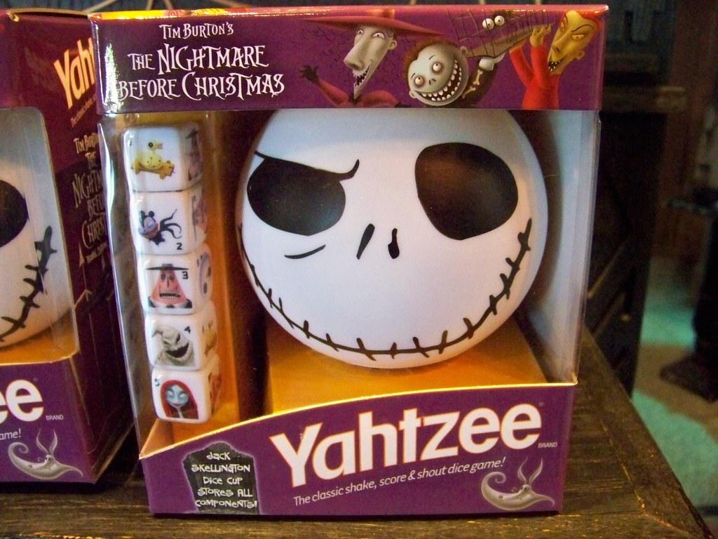 Nightmare Before Christmas Yahtzee game in Port Royal | Flickr