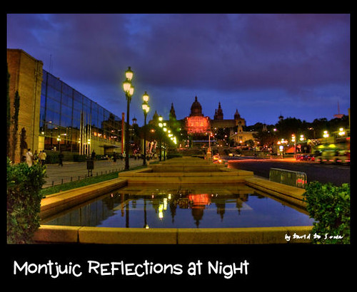 Reflejos Nocturnos desde Montjuic / Montjuic Reflections at Night | by Far & Away (On assigment, mostly off)