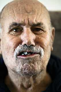 dad with fake teeth | by glenngould
