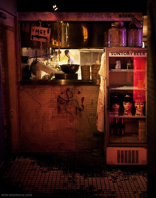 "Restaurants >> The kitchen at ""Alcatraz"" horror theme restaurant - Tokyo,… | Flickr"