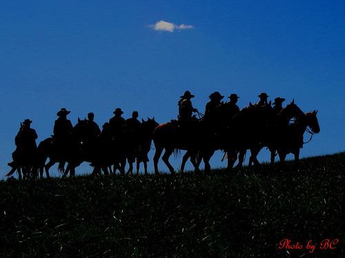 The South Rides Again. Civil War Reenactment At Perryville Ky. 2009. | by ~~BC's~~Photographs~~