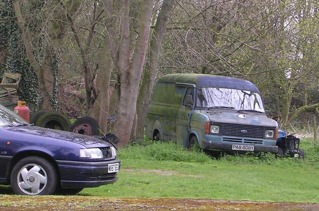 Ford Transit Mk2 Lwb Possibly Ex White Arrow Or Similar