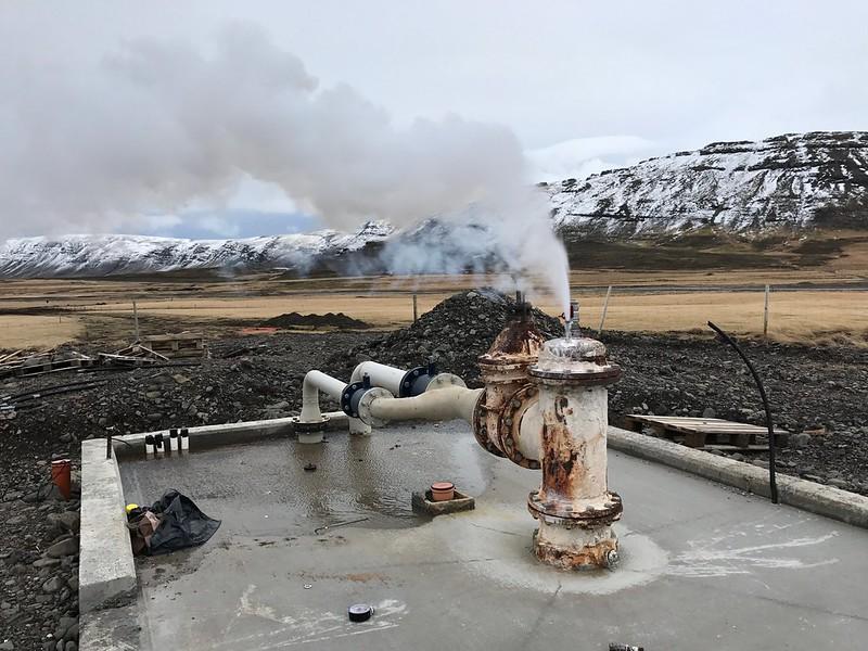 Geothermal steam vent
