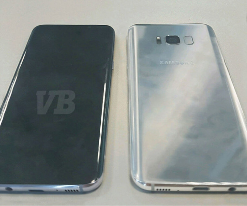 samsung s8 phone arena front back