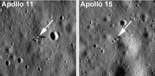Landing Sites Nasa Moon