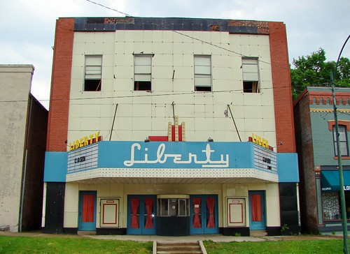 IL, Vandalia-Liberty Theater | by Alan C of Marion,IN