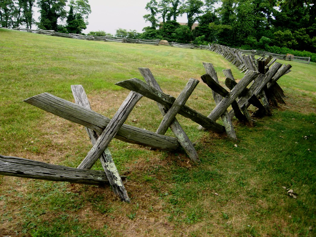 Buck rail fence blue ridge parkway very effective in
