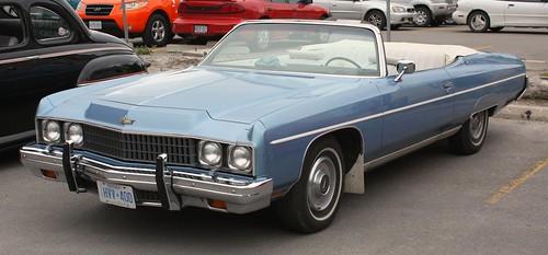 New Chevy Impala >> 1973 Chevrolet Caprice Classic convertible   Richard ...