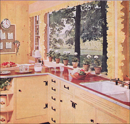 1955 Kitchen By Pittsburgh Glass