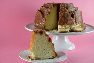 Cream Cheese Pound Cake with Lime Glaze (Williams Sonoma) | by Food Librarian