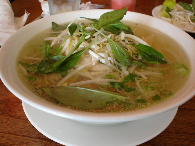 Pho Vietnamese Soup A Complete Meal For My Flickr