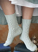 Lace Socks From Vogue Knitting Holiday 2009 Photo Is Copyr Flickr