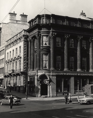 014923:Leeds Permanent Building Society Grey Street/Mosley Street Newcastle upon Tyne  1965 | by Newcastle Libraries