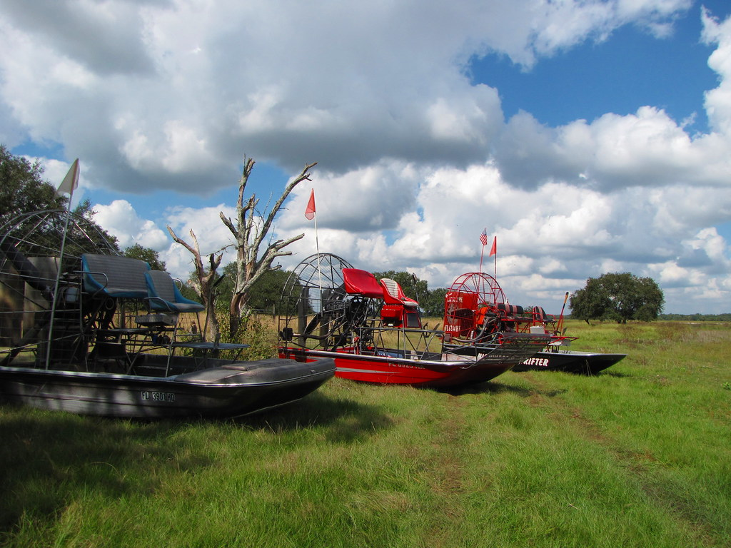 Airboaters | Fort Center Archeological Site Fisheating Creek… | Flickr