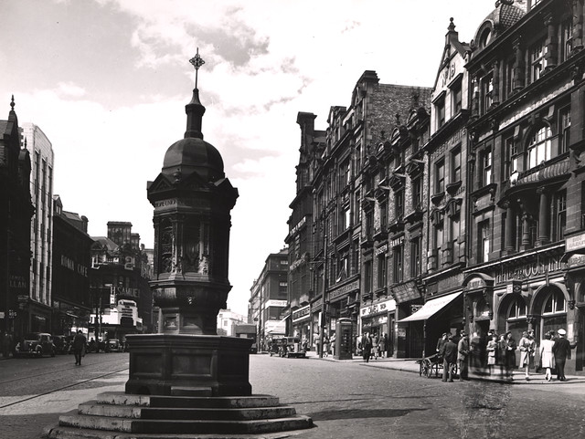 038952 Bigg Market Newcastle Upon Tyne Unknown C 1947 Flickr