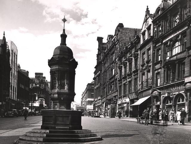 038952 Bigg Market Newcastle Upon Tyne Unknown C 1947 Flickr