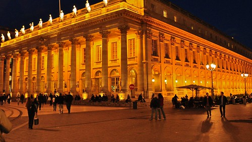 Bordeaux -  Grand Theatre at Night