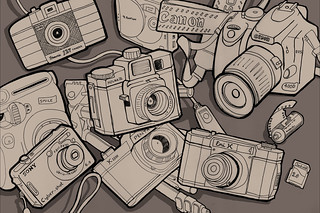 Camera Club (in fudge) | by bitsOfBobs