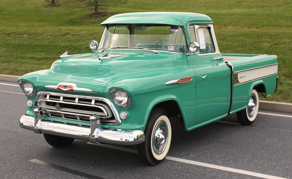 1957 Chevrolet Cameo Pickup Richard Spiegelman Flickr