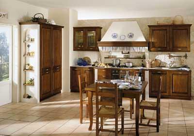 Cucina in muratura | Cucina lineare realizzata in due parti … | Flickr