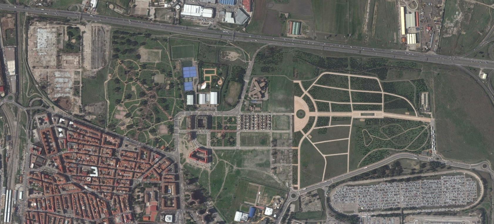 villaverde, madrid, greenville, después, urbanismo, planeamiento, urbano, desastre, urbanístico, construcción, rotondas, carretera