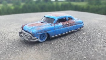 How to Patina Paint a Die-cast Car