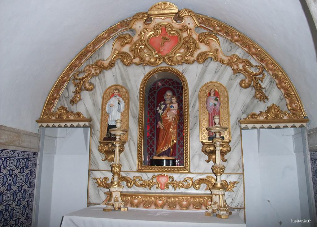 La talha dourada, taille dorée, caractéristique du baroque portugais
