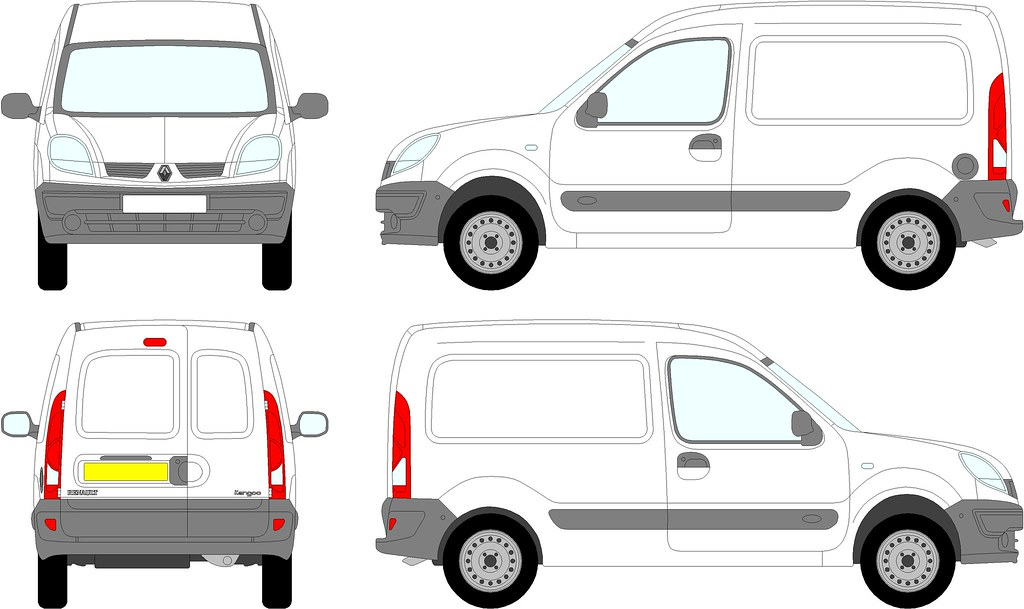 Renault kangoo van 2003 2008 need your vehicle for Van sign writing templates