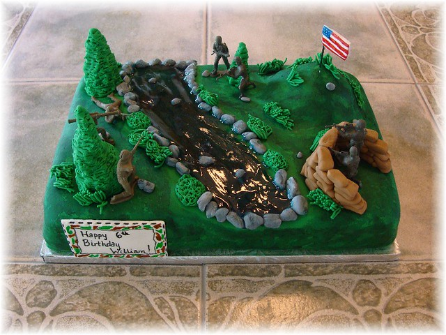 Battlefield Cake For A Friend I Normally Don T Like To
