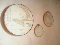 vintage maps for new decoration | by atelierpompadour