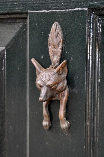 Fox Door Knocker   By DevonshireMedia Fox Door Knocker   By DevonshireMedia
