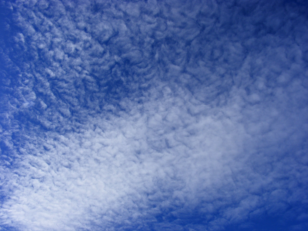 Cielo dipinto  Le nuvole dipingono il cielo blu dautunno  COMAR1983  ...