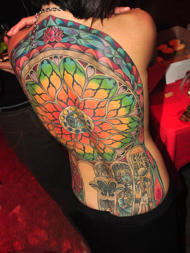 Pretty Much The Best Back Tattoo Ever