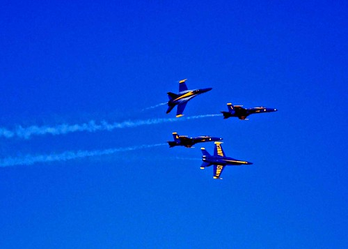 the blue angels | by Girl flyer