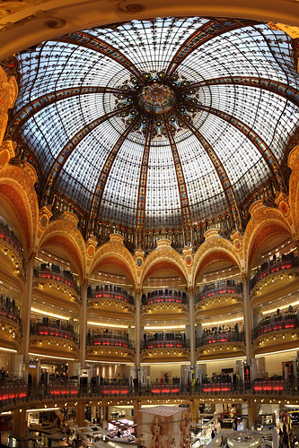 galeries lafayette paris france 4 pictures stitched can flickr. Black Bedroom Furniture Sets. Home Design Ideas