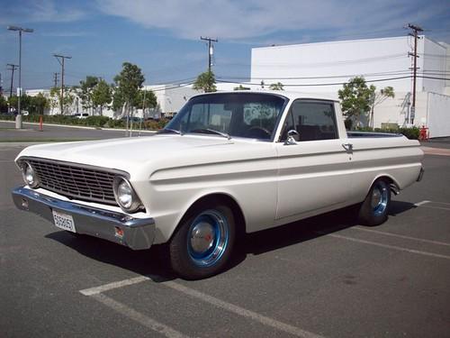 F on 1964 Ford Falcon Ranchero