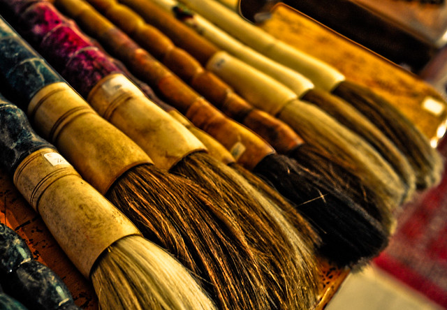 Asian Paint brushes 2 | Chris Willis | Flickr