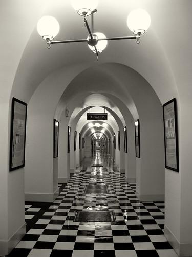 Memorabilia Interior Stairwell Of The Us Department Of Tre Flickr