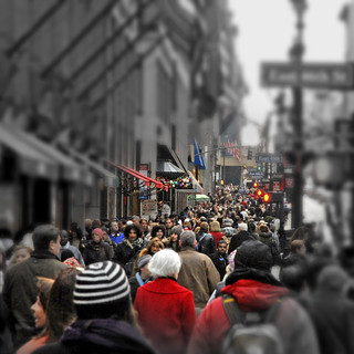 Crowd in 5th Avenue | by angelocesare