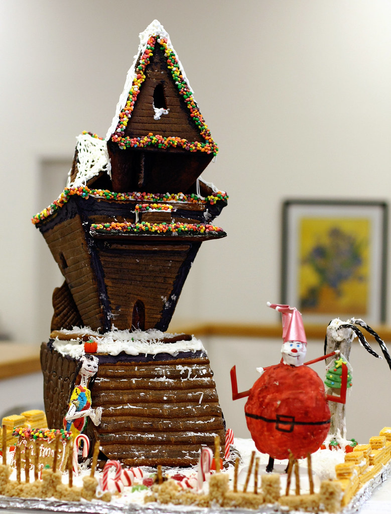 nightmare before christmas by megan conlin organicpixel - Nightmare Before Christmas Gingerbread House